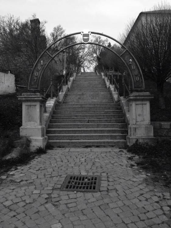 Steps to Rosice