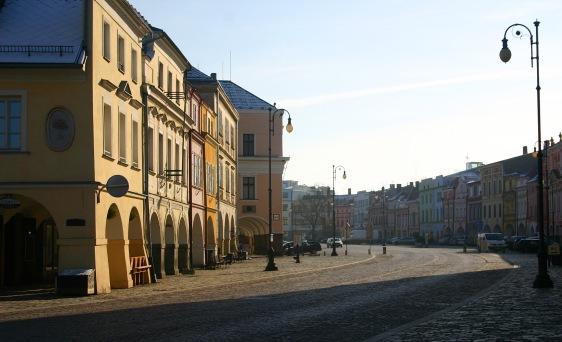 Litomyšl town square