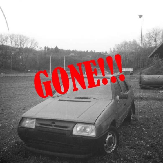 Gone!!!