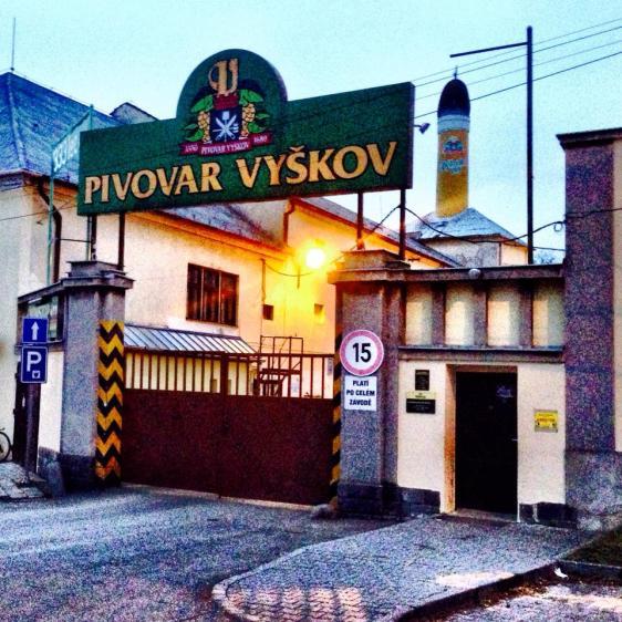 Vyskov brewery