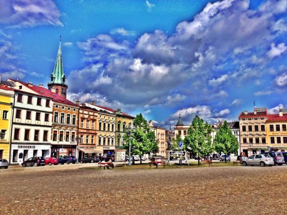 Frýdek-Místek square