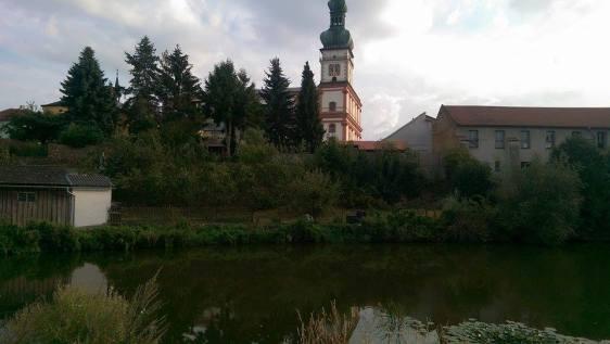 A view of Polna from U Bartaku
